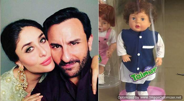 Taimur Ali Khan's Doll Goes Viral; Saif Ali Khan Reacts