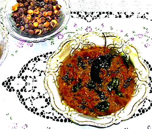 Parched bengal gram chutney