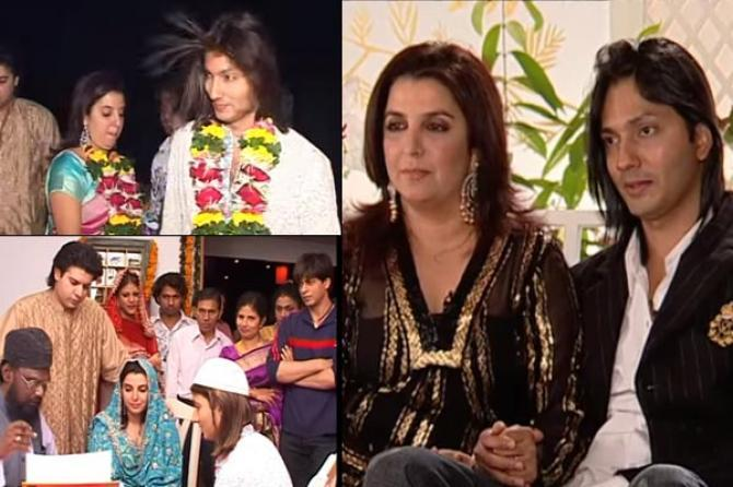 Unseen Pics Of Farah Khan From Her Wedding Reveal She's No Less Than A Bollywood  Actress