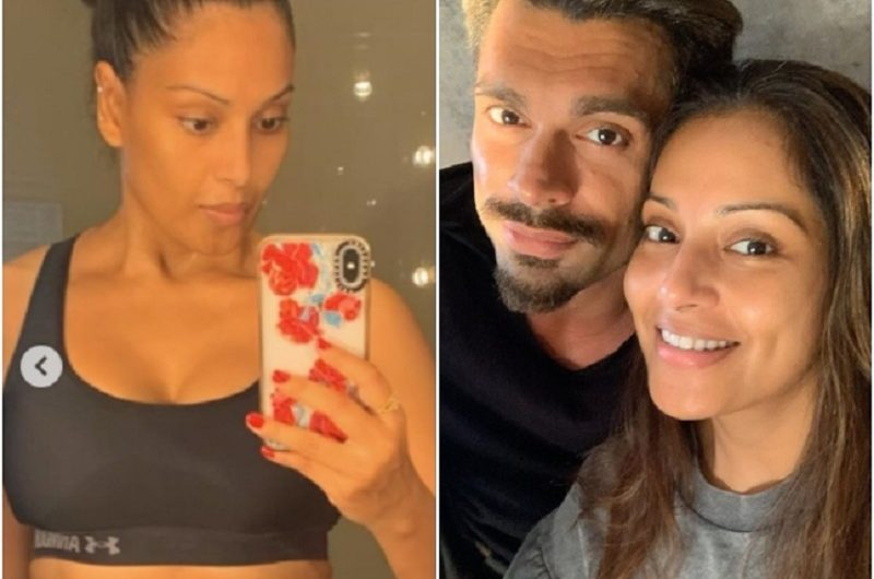 Bipasha Shares A Workout Lockdown Picture Post Pregnancy Rumours