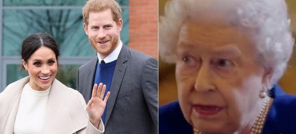 Prince Harry & Meghan Markle Not Allowed To Attend Queen Elizabeth