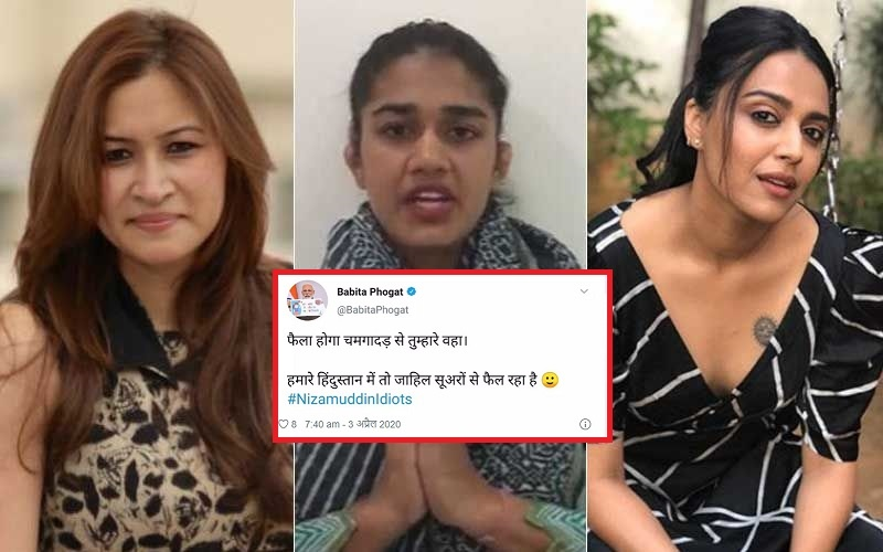Babita Phogat Slammed By Swara Bhaskar & Jwala Gutta Over Her Communal Tweet,