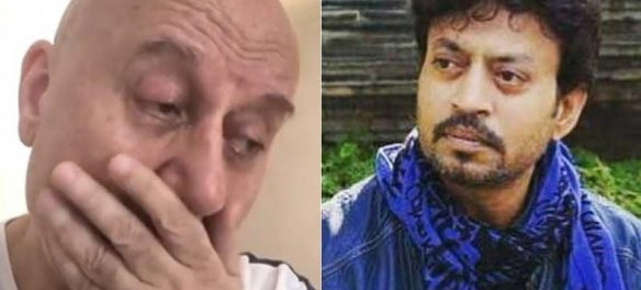 Irrfan Khan Death: Anupam Kher Breaks Down In This Video