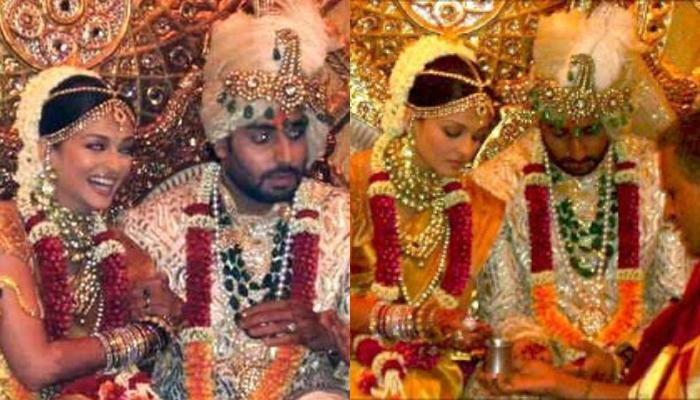 Watch Unseen Video From Aishwarya Rai And Abhishek Bachchan Wedding To See Their Varmala
