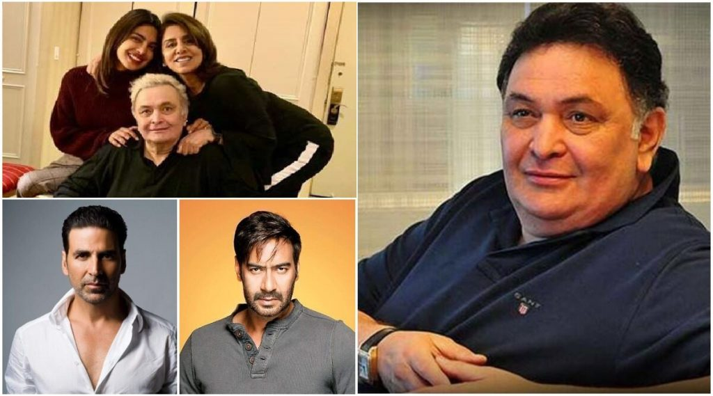 Bollywood Is Shattered With The News Of Demise Of Rishi Kapoor And Irrfan Khan; Pays Condolence