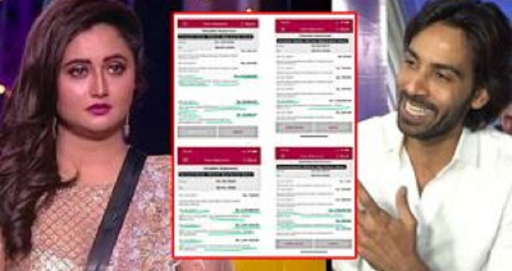Arhaan Khan And Rashami Desai Opens Up On The Leaked Bank Statement; Blames Each Other