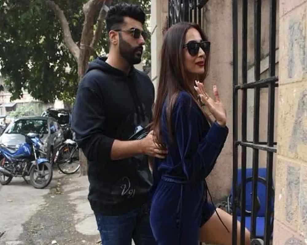 Arjun Kapoor and Malaika Aroroa