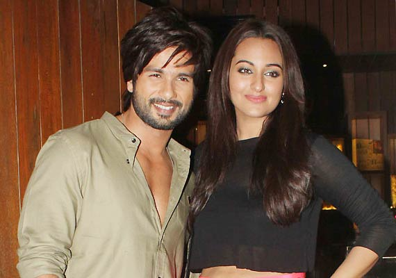Sonakshi Sinha and Shahid Kapoor were dating