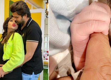 TV actor Mansi Sharma, Yuvraaj Hans Welcome Baby Boy, Share First Photo