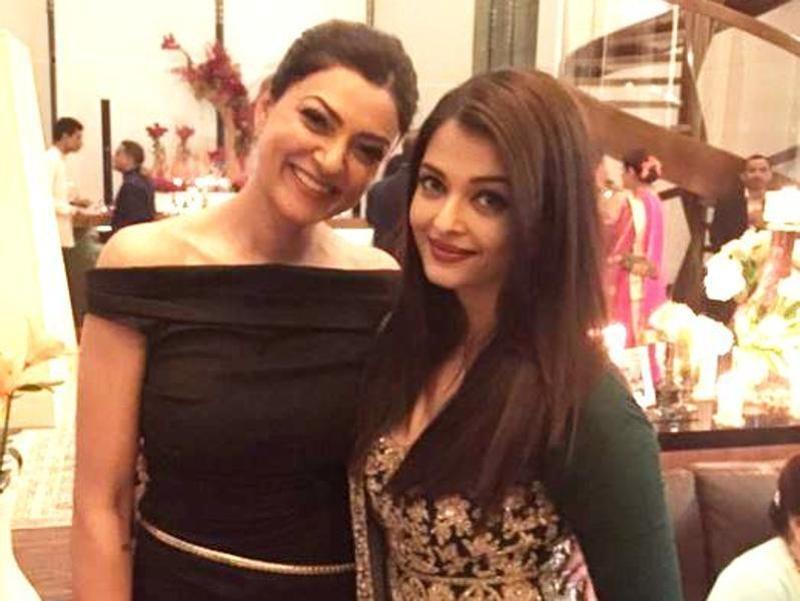 Aishwarya Rai and Sushmita Sen