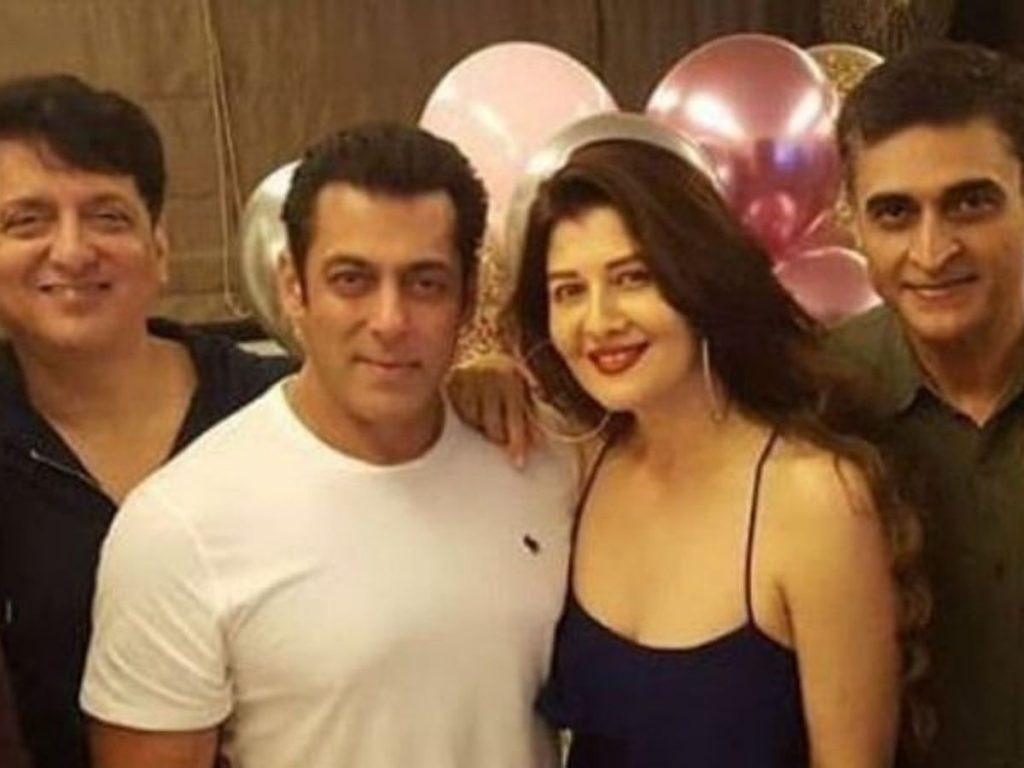 Salman Khan and Sangeeta Bijlani