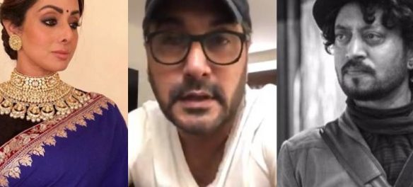 Pakistani Anchor Adnan Apologizes To Sridevi & Irrfan Khan's Families After A Host Blames Him For Their Deaths