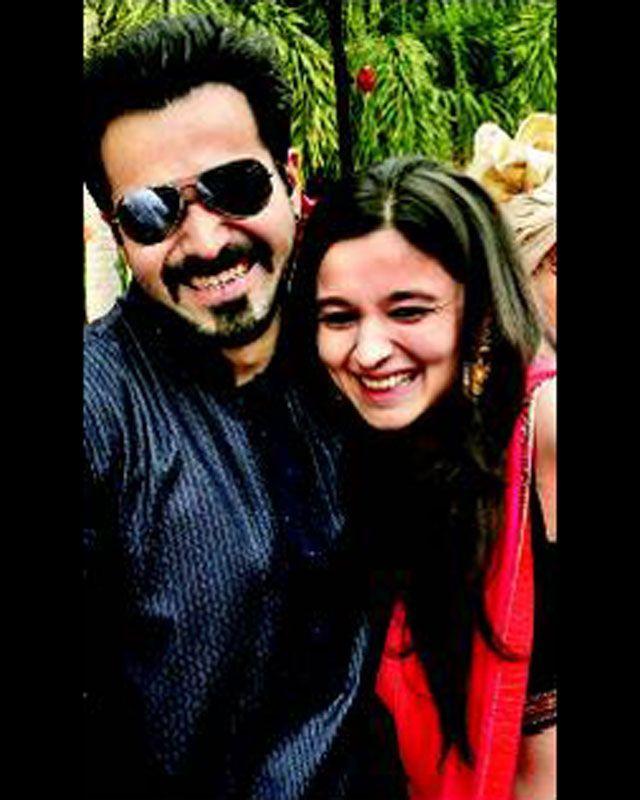 Alia bhatt with actor Emraan Hashmi