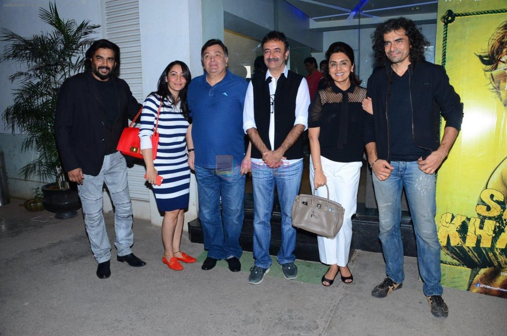 rishi kapoor with Imtiaz ali Love Aaj Kal