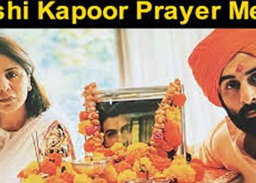 Rishi Kapoor's Demise: Neetu And Ranbir Prays Next To Late Actor's Picture For His Soul