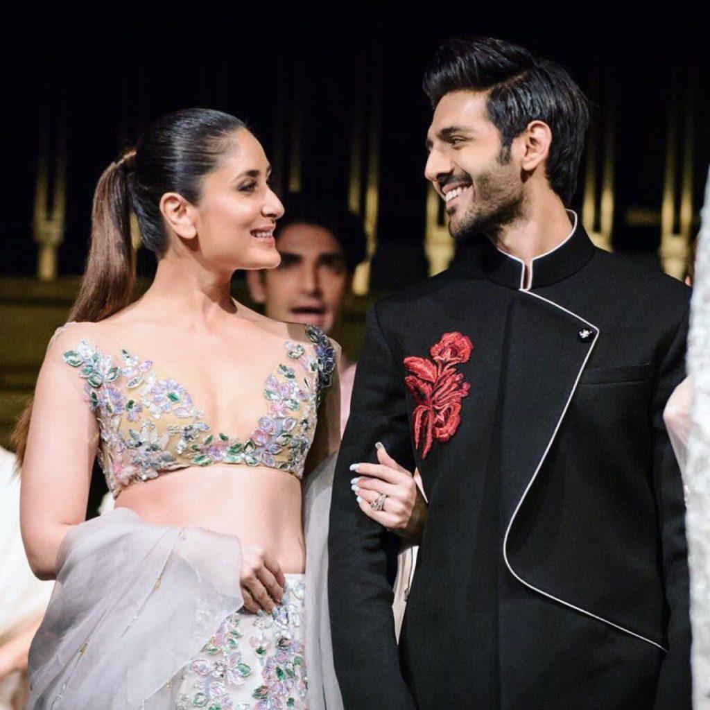 Kartik Aaryan & Kareena Kapoor