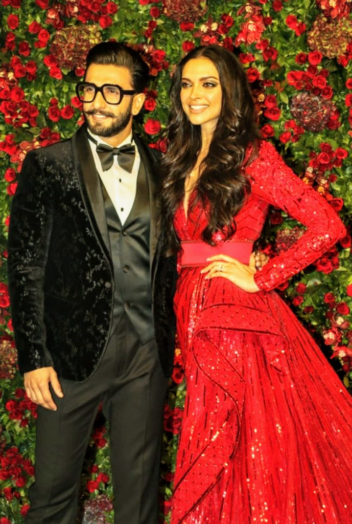Bollywood couple Deepika Padukone alongside hubby Ranveer Singh