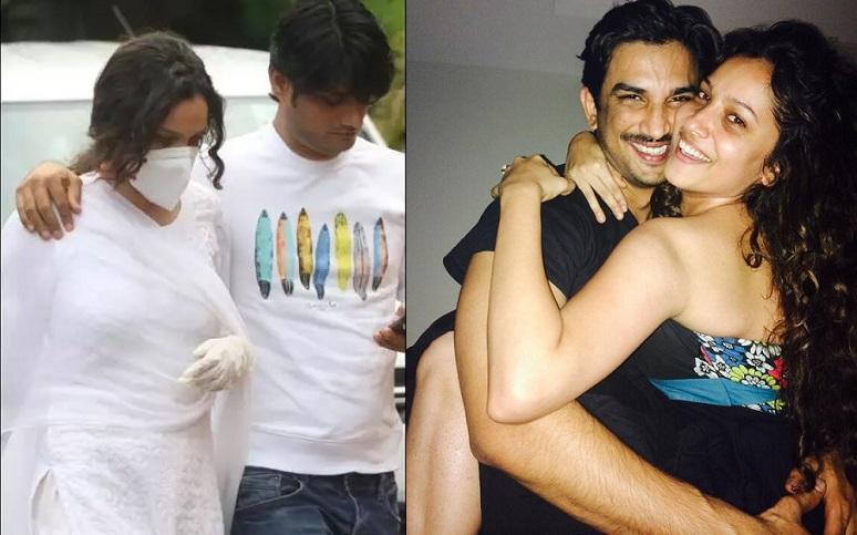 Sushant Singh Rajput S Ex Girlfriend Ankita Lokhande Arrives At