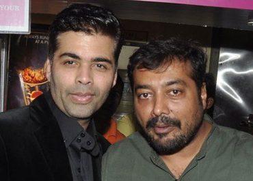 Anurag kashyap and Karan Johar