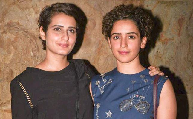 Dangal girl Fatima Sana Shaikh dating Sanya Malhotra