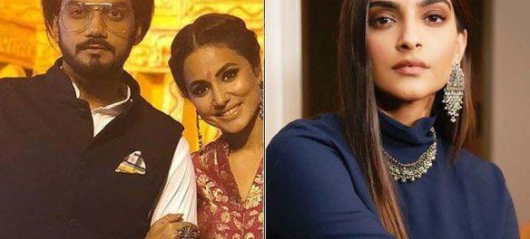 Hina Khan's Boyfriend Rocky Brutally Slams Sonam Kapoor On Her 'Karma' Tweet