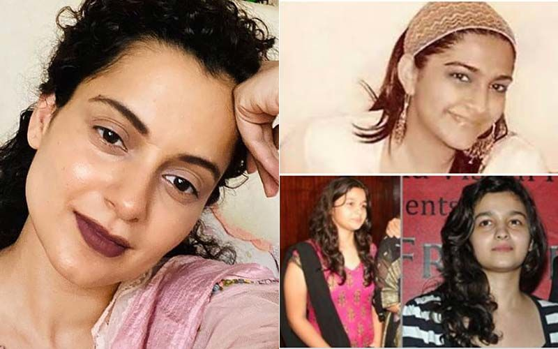 Kangana Ranaut Reacts To Old Pics Of Star Kids