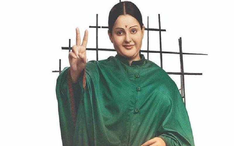 Kangana Ranaut Thalaivi look