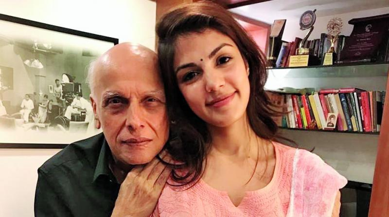 Sushant Singh Rajput's Girlfriend Rhea Chakraborty Came Running Back To Mahesh Bhatt For Counsel