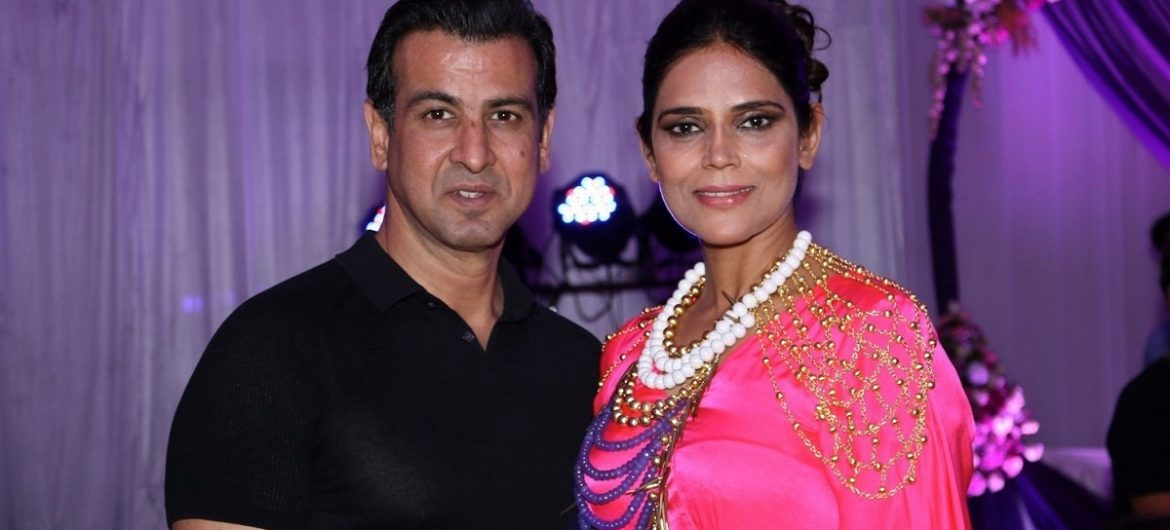 Ronit Roy and Neelam