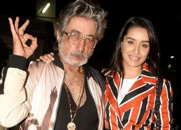 Shraddha Kapoor and Shakti Kapoor