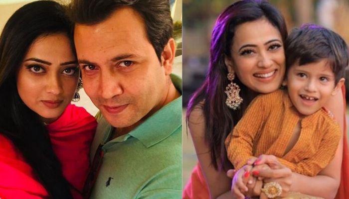 Shweta Tiwari and Abhinav Kohli Son
