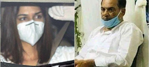 Sushant Singh Rajput father on meeting Kriti Sanon at SSR funeral