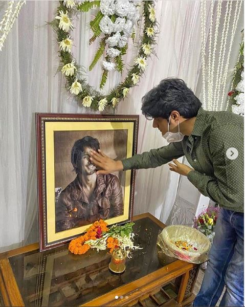 Sushant Singh Rajput friend Sandip Singh at his house in Patna
