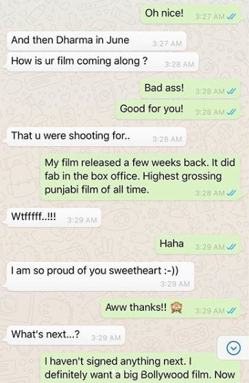 Sushant Singh Rajput whatsapp chat with Lauren Gottlieb