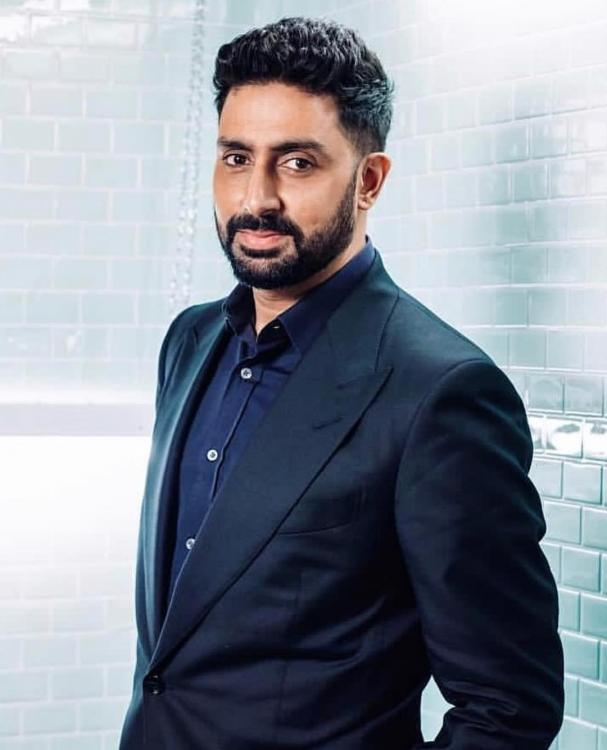 Bollywood actor Abhishek Bachchan.