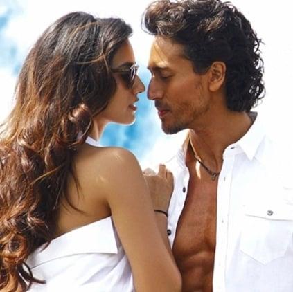 Bollywood actor Tiger shroff and Disha Patani