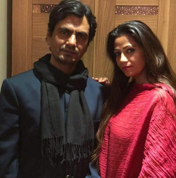 Nawazuddin Siddiqui with his wife Aaliya