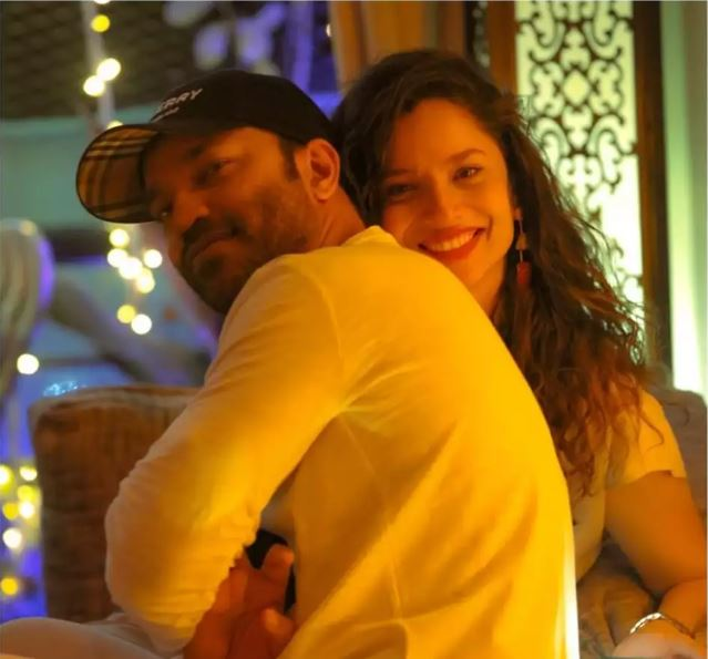 Ankita Lokhande and Vicky Jain
