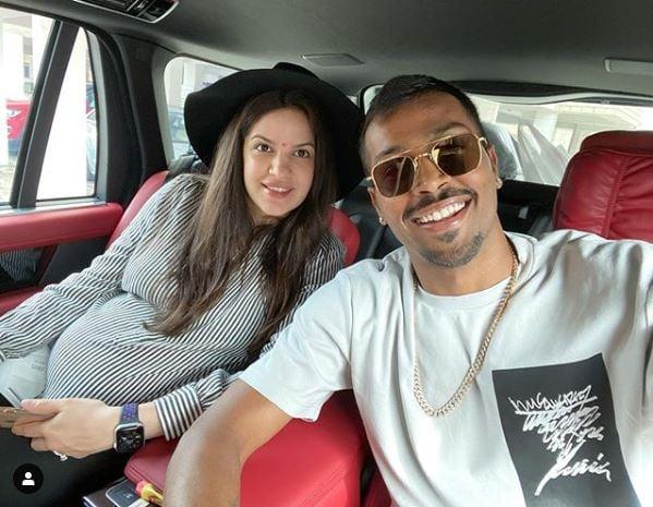 Hardik Pandya and Natasha Stankovic