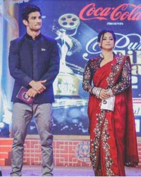 Divya Dutta and Sushant Singh Rajput