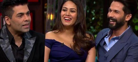 Mira Rajput Left Karan Johar Speechless By Standing Up For Husband Shahid Kapoor