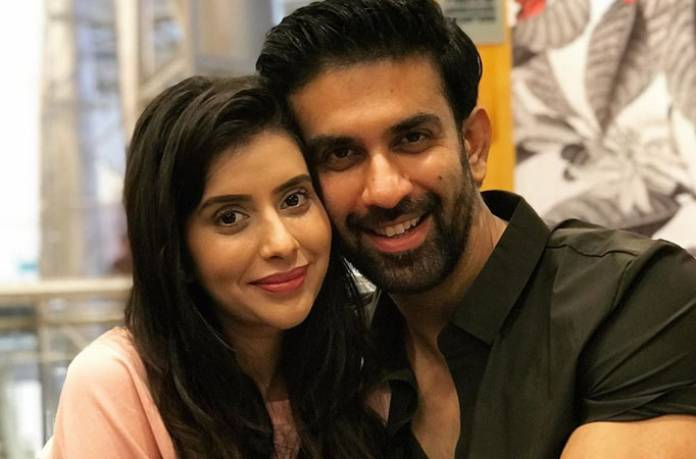 Rajeev Sen and Charu Asopa