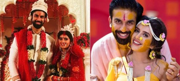 Rajeev Sen and Charu Asopa wedding pictures
