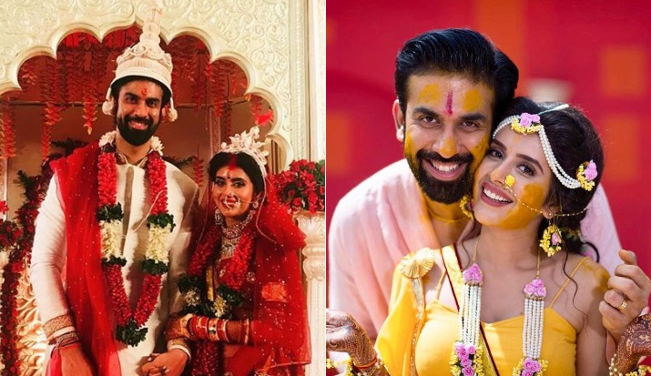 Rajeev Sen and Charu Asopa wedding pictures