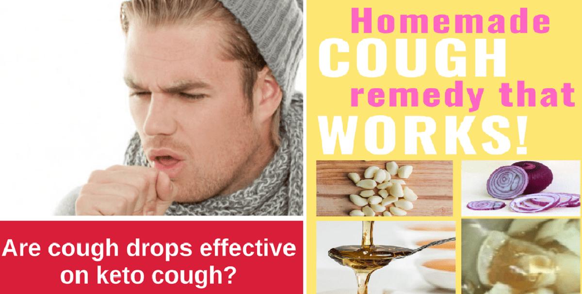 keto diet cough drops