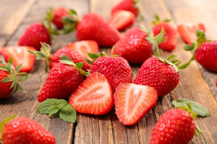 Strawberries for healthy hair
