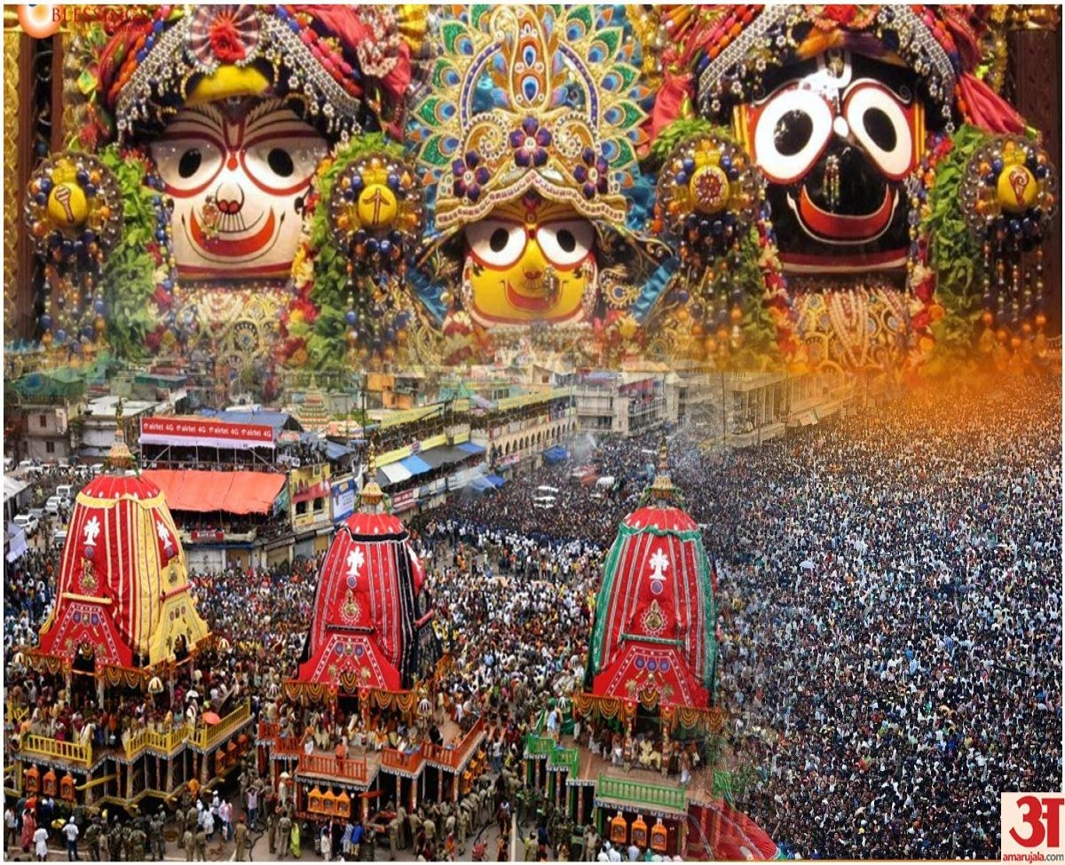 Puri's Jagannath Yatra Begins Under Restrictions: Curfew Imposed In The City For Two Days