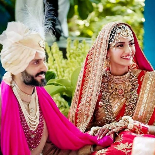 Sonam Kapoor got married to Anand Ahuja